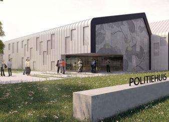 Main entrance police station